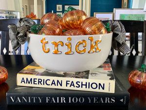 Trick or Treat Candy/Party Bowl