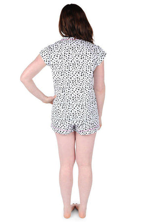 Spot On Cotton Poplin Summer Pajama Set - The Preppy Bunny
