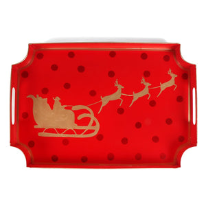 Holiday Sleigh Jaye Tray - The Preppy Bunny