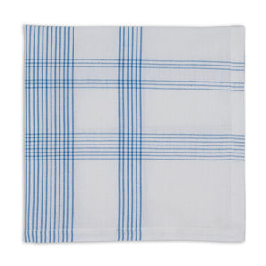 Blue Plaid Napkins Set of 4 - The Preppy Bunny