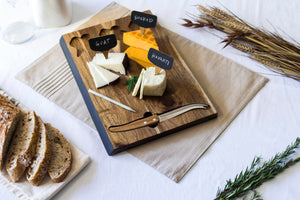 Delio Acacia Cheese Board Set - The Preppy Bunny