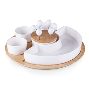 Appetizer Bowls and Picks Serving Set - The Preppy Bunny