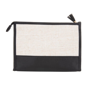 Linen Cosmetic Bag - The Preppy Bunny