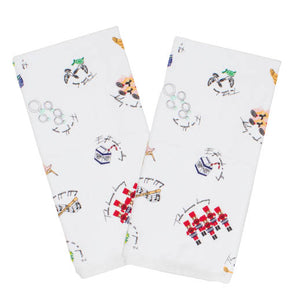 12 Days of Christmas Kitchen Towels Set of 2 - The Preppy Bunny