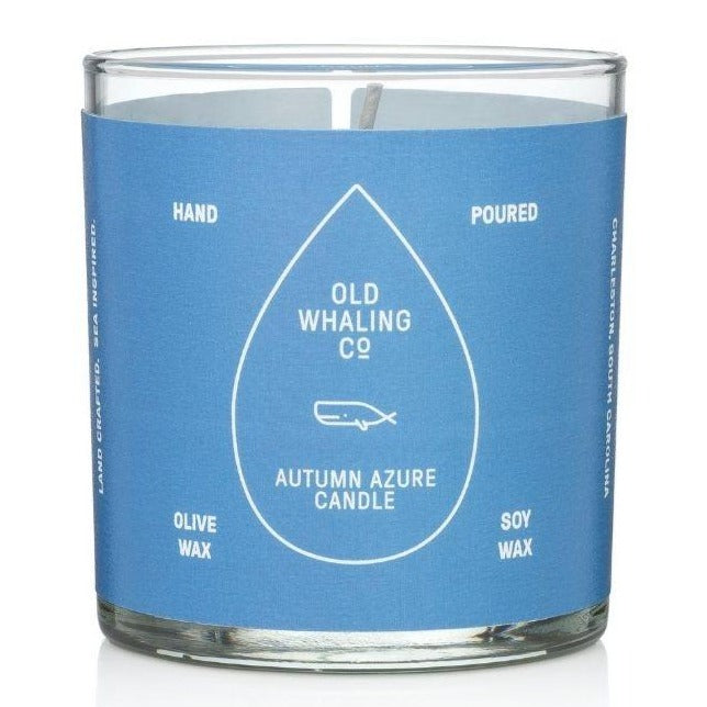 Autumn Azure Candle - The Preppy Bunny