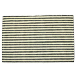 Black Petite Stripe Placemat Set of 4 - The Preppy Bunny