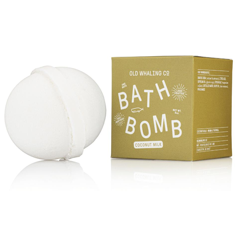Coconut Milk Bath Bomb - The Preppy Bunny