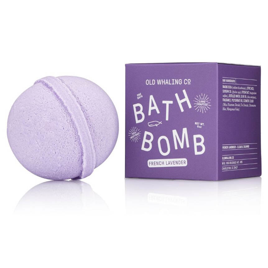 French Lavender Bath Bomb - The Preppy Bunny