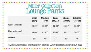 Green Seersucker Lounge Pants - The Preppy Bunny