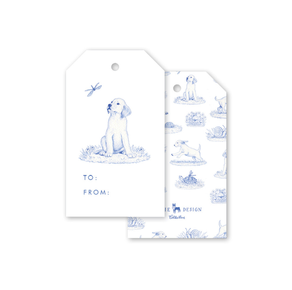Snips and Snails Gift Tags - The Preppy Bunny