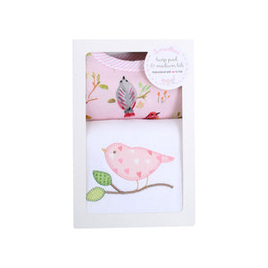 Bird Medium Bib & Burp Box Set - The Preppy Bunny