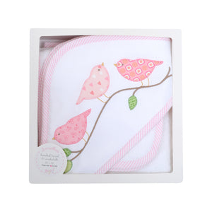 Bird Boxed Hooded Towel & Washcloth Set - The Preppy Bunny