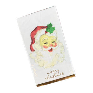 Santa Merry Christmas Paper Guest Towels - The Preppy Bunny
