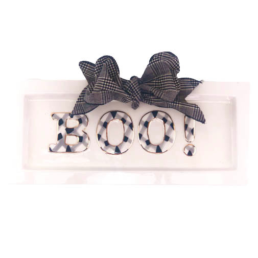 Halloween Boo Serving Tray - The Preppy Bunny