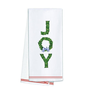 Joy Boxwood Towel - The Preppy Bunny