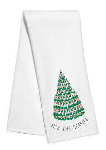 Fizz the Season Kitchen Towel - The Preppy Bunny