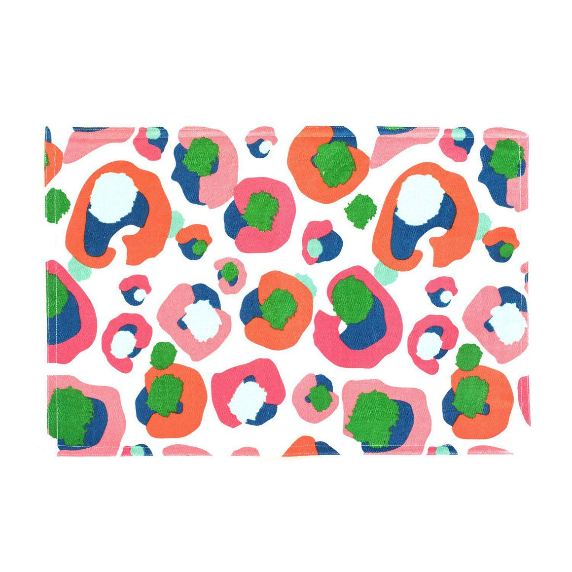 Multi Leopard Placemats Set of 4 - The Preppy Bunny