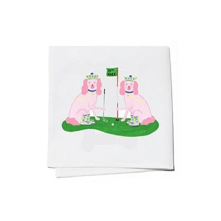 Willa Heart Ellen & Jay Golf Cocktail Napkins Set of 4 - The Preppy Bunny