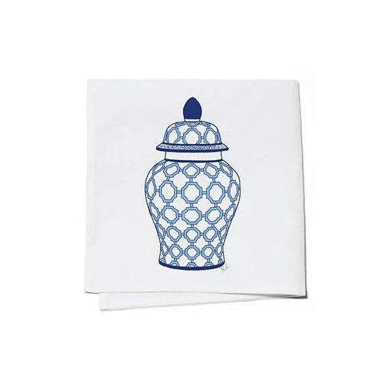 Ginger Jar Cocktail Napkins Set of 4 - The Preppy Bunny