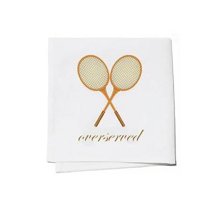 Overserved Cocktail Napkins Set of 4 - The Preppy Bunny