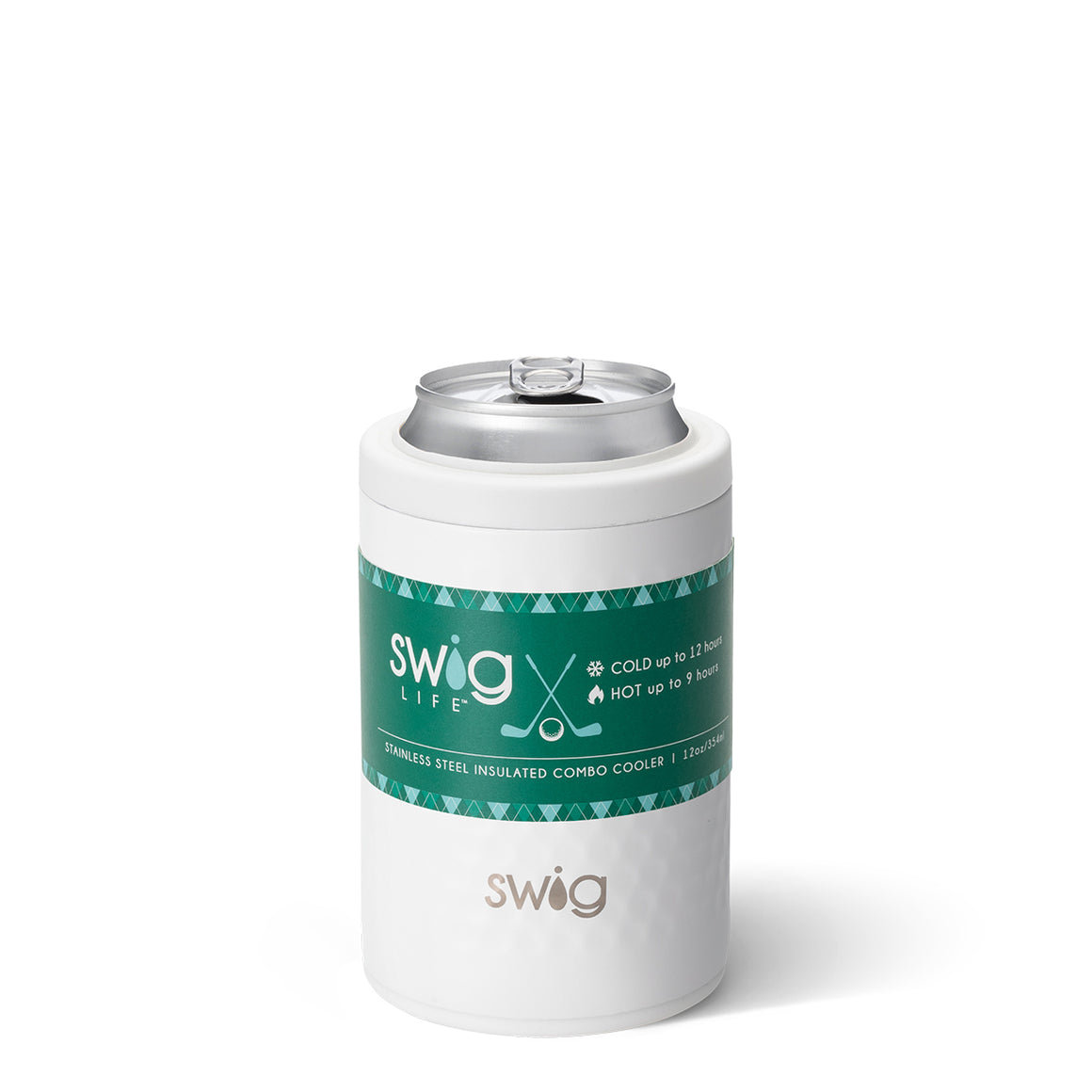 Swig 12oz Can Cooler Golf Par-Tee - The Preppy Bunny