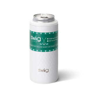 Swig 12oz Skinny Can Cooler - The Preppy Bunny