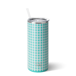 SCOUT + Swig Barnaby Checkham Tumbler (20oz) - The Preppy Bunny