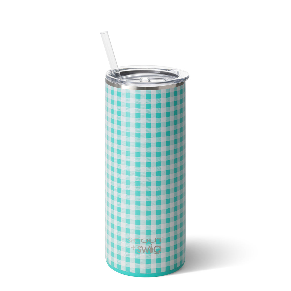 Swig 20oz Tumbler Barnaby Checkham by SCOUT - Coming April 2020 - The Preppy Bunny