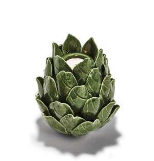 Artichoke Tall Tealight Candle Holder - The Preppy Bunny