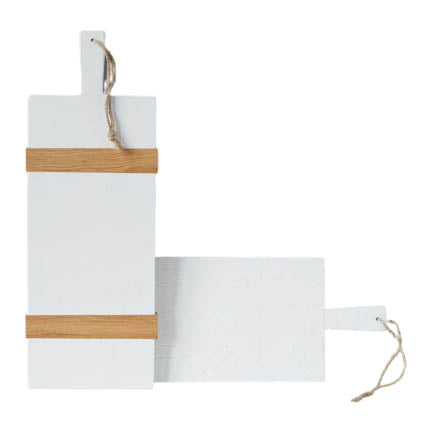 White Rectangle Mod Charcuterie Board, Small - The Preppy Bunny
