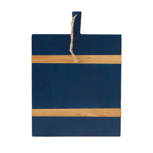 Navy Rectangle Mod Charcuterie Board, Medium - The Preppy Bunny