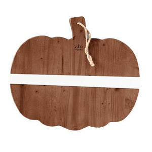Natural Mod Pumpkin Charcuterie Board Small-The Preppy Bunny-The Preppy Bunny