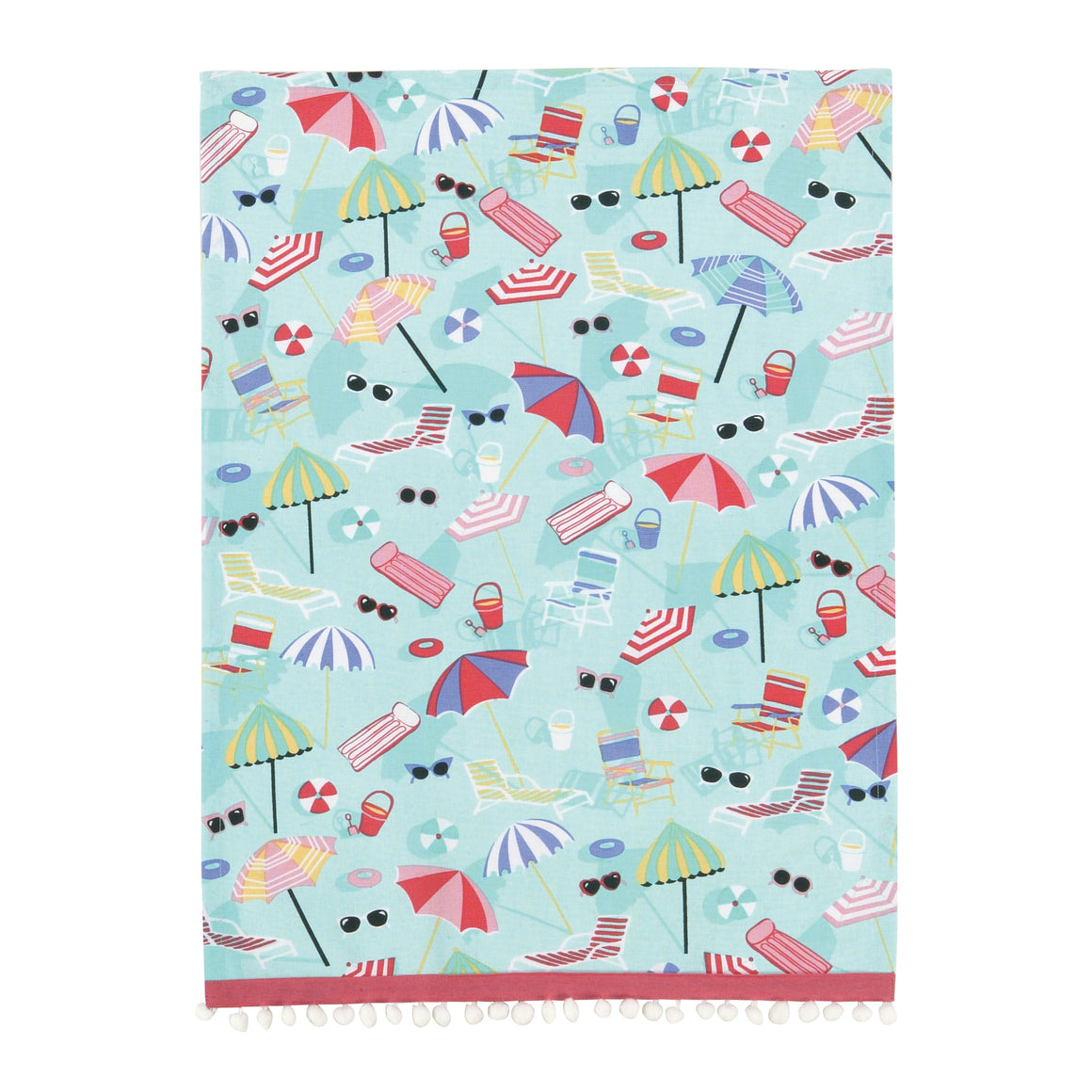 SPF Summer Fun Kitchen Towel - The Preppy Bunny
