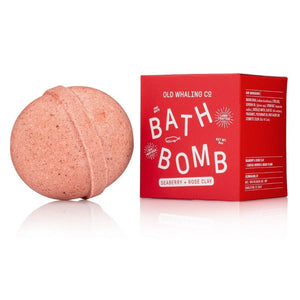 Seaberry & Rose Clay Bath Bomb - The Preppy Bunny