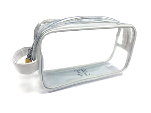Clear Glam Bag - More colors available - The Preppy Bunny