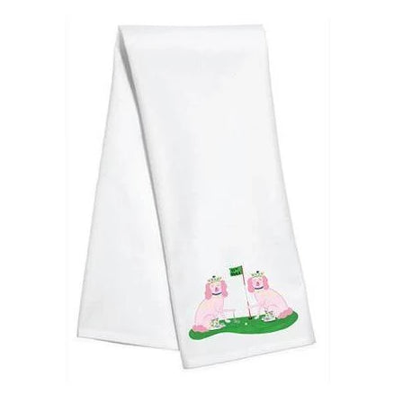 Willa Heart Ellen & Jay Golf Kitchen Towel - The Preppy Bunny