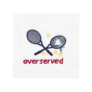 Overserved Cocktail Napkins by August Morgan - The Preppy Bunny