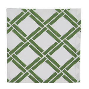 Lattice Printed Monogrammed Napkins - The Preppy Bunny