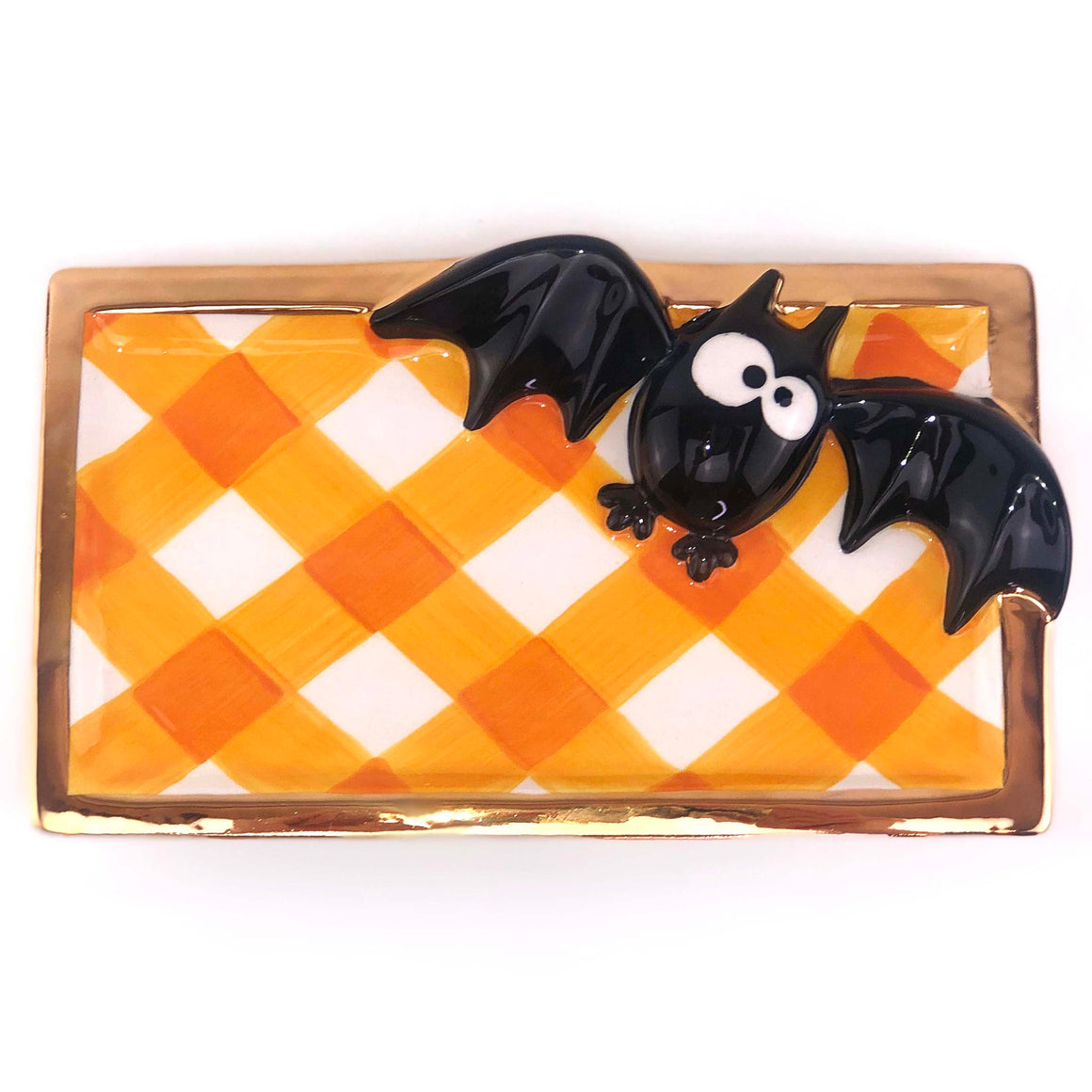Halloween Bat Treat Tray - The Preppy Bunny