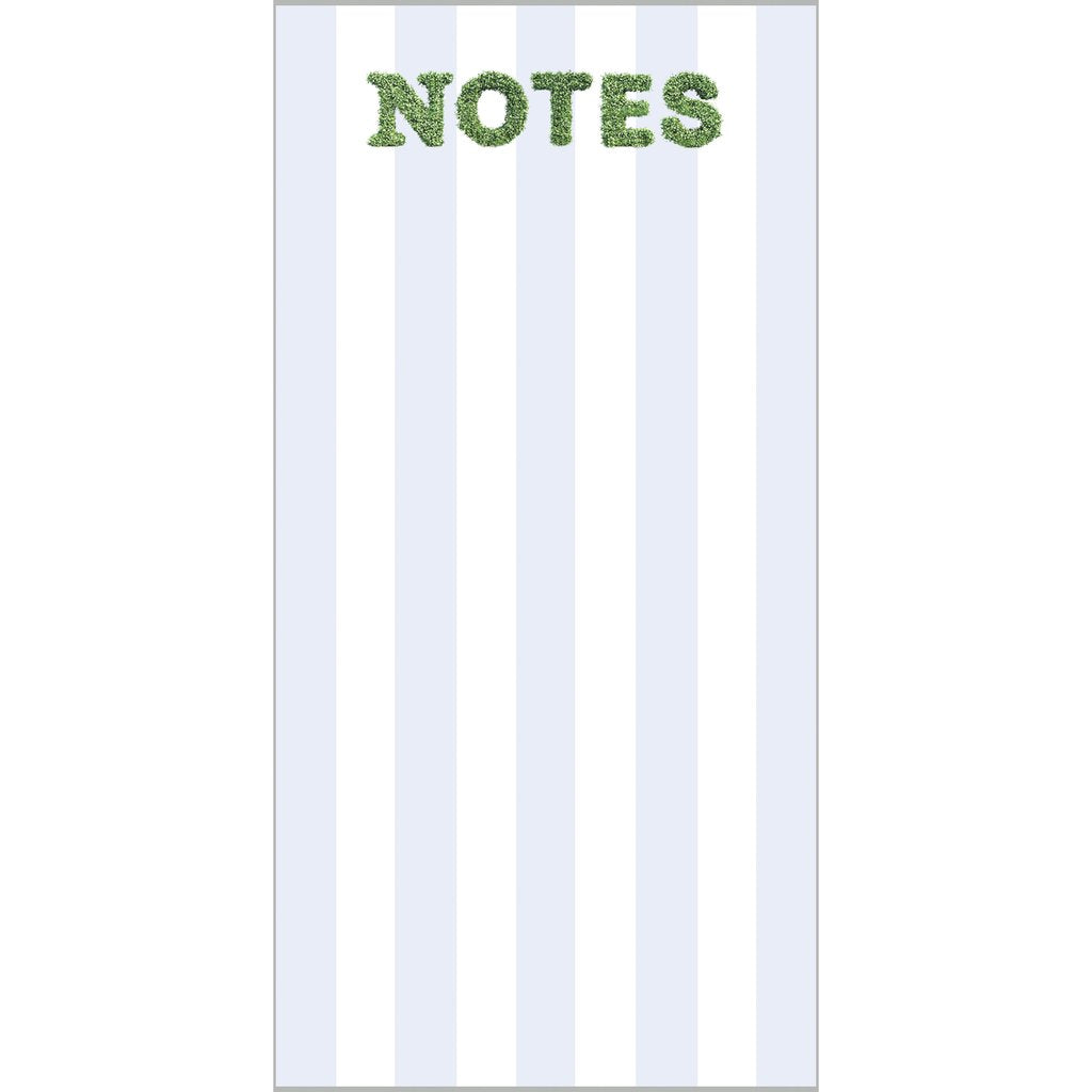 Boxwood Notes Notepad - The Preppy Bunny