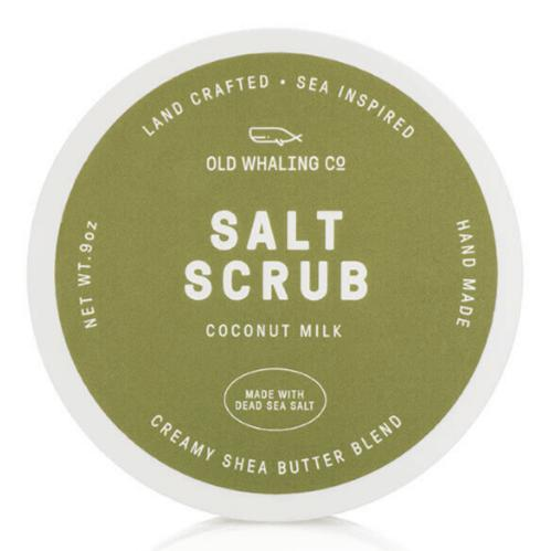 Coconut Milk Salt Scrub 9 oz. - The Preppy Bunny