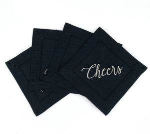 Cheers Cocktail Napkins - The Preppy Bunny
