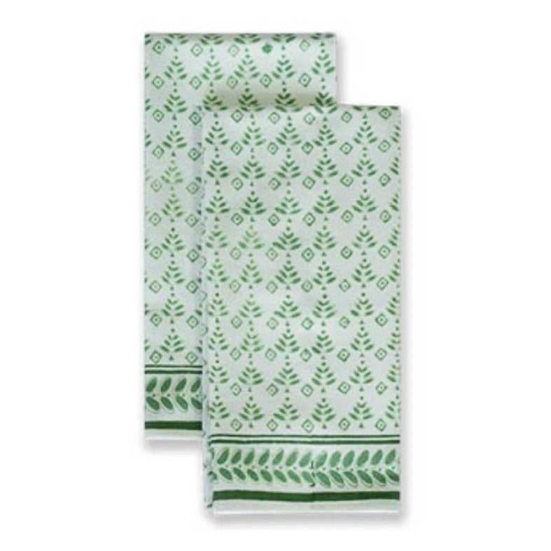 Christmas Booti Tea Towels Set of 2 - The Preppy Bunny
