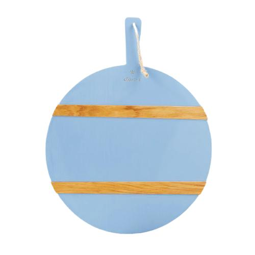 Caitlin Wilson French Blue Round Mod Charcuterie Board - Medium - The Preppy Bunny