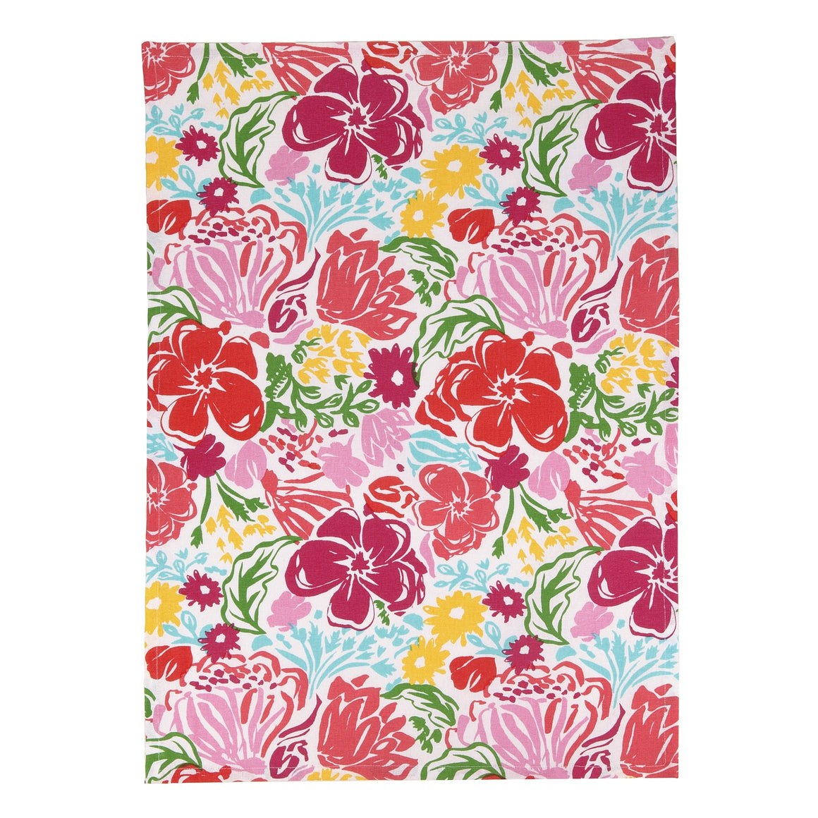 Floral Kitchen Towel - The Preppy Bunny