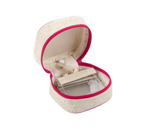 Linen Jewelry Cube - The Preppy Bunny