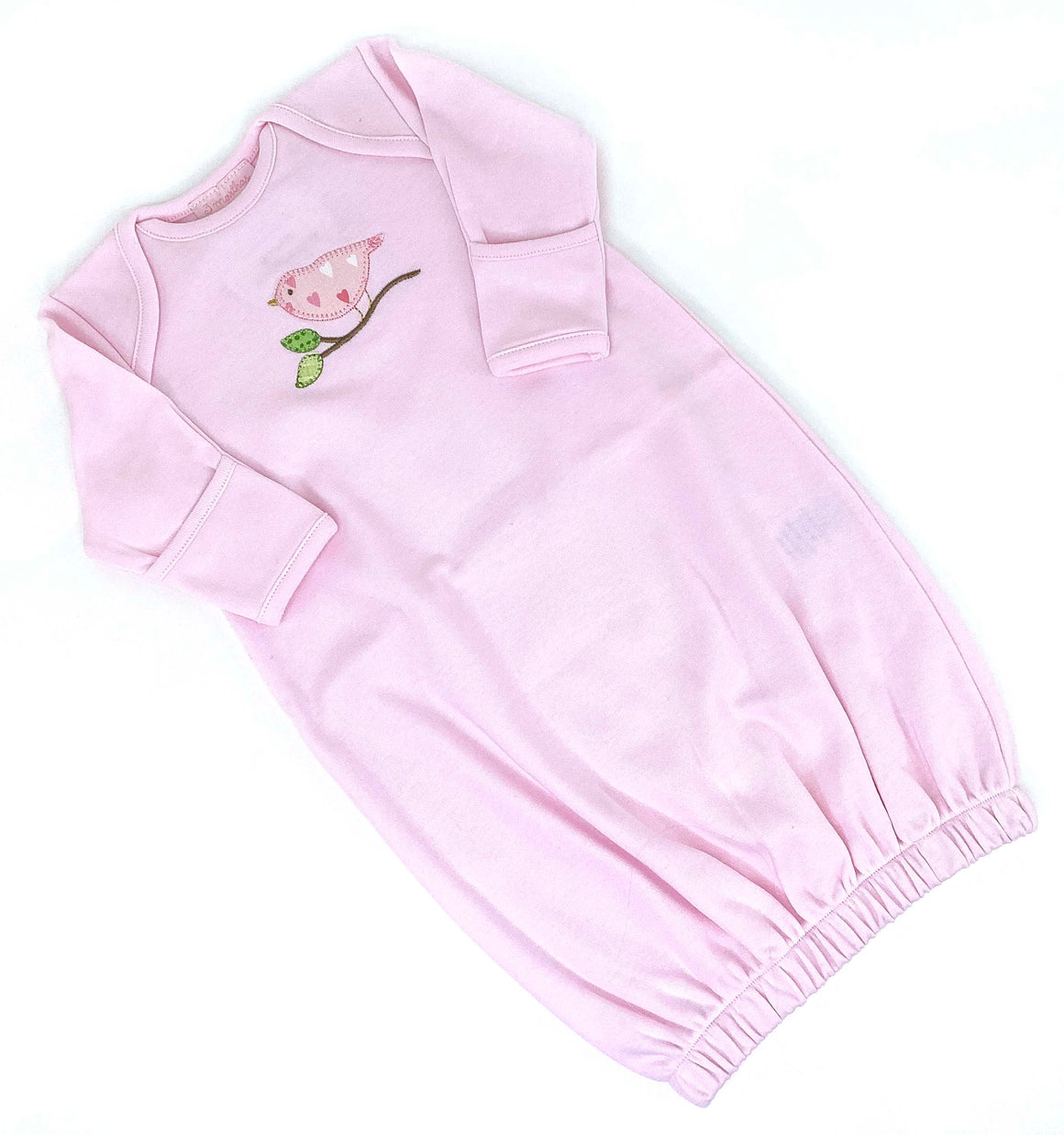 Bird Newborn Gown - The Preppy Bunny