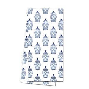 Geometric Ginger Jar Tea Towel - The Preppy Bunny