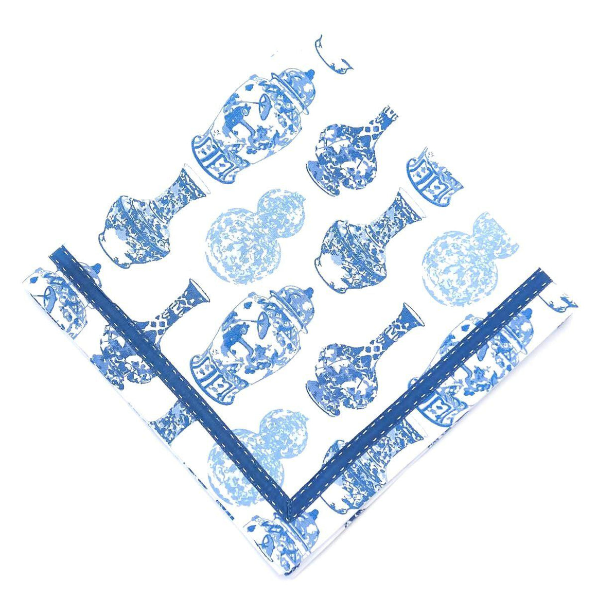 Blue Ginger Jar Napkins - The Preppy Bunny