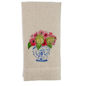 Ginger Jar Bouquet Guest Towel - The Preppy Bunny